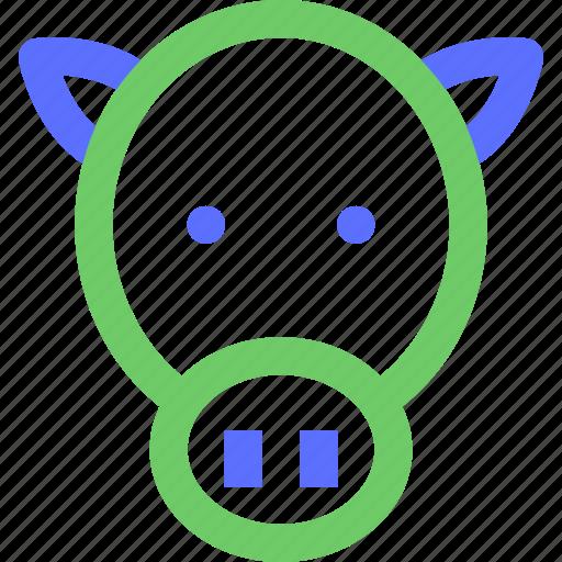 animals, beast, bull, cow, earth, nature, wild icon