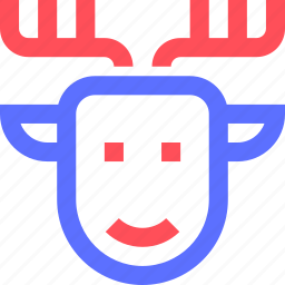 animals, beast, deer, earth, nature, wild icon