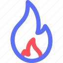 camp, camping, fire, hiking, nature, outdoor icon