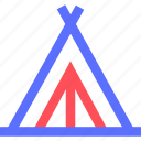 camp, camping, hiking, nature, outdoor, tent icon