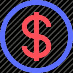 business, commerce, dollar, economics, marketing, money, trade icon