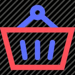 basket, business, commerce, economics, marketing, shopping, trade icon