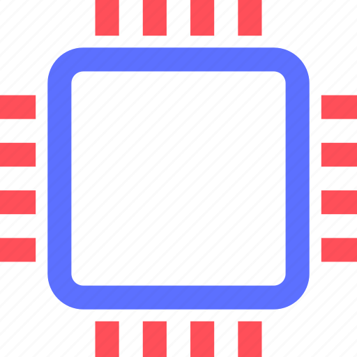 chipset, computers, cpu, digital, electronic, gadget, intelligence icon