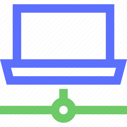 computers, connected, digital, electronic, gadget, intelligence, network icon