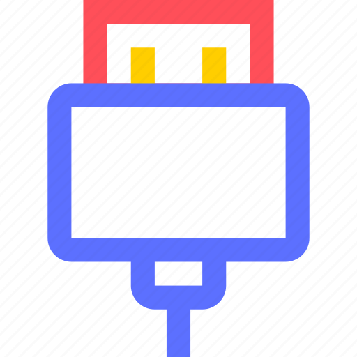 cable, computers, connection, digital, electronic, gadget, intelligence icon