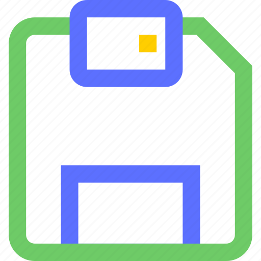 computers, digital, disk, electronic, floppy, gadget, intelligence icon