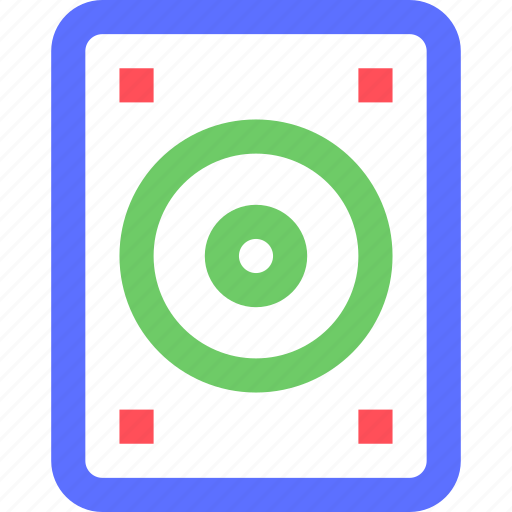 computers, digital, disc, drive, electronic, gadget, hard, intelligence icon