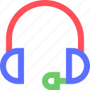 computers, digital, electronic, gadget, headphones, intelligence, microphone icon