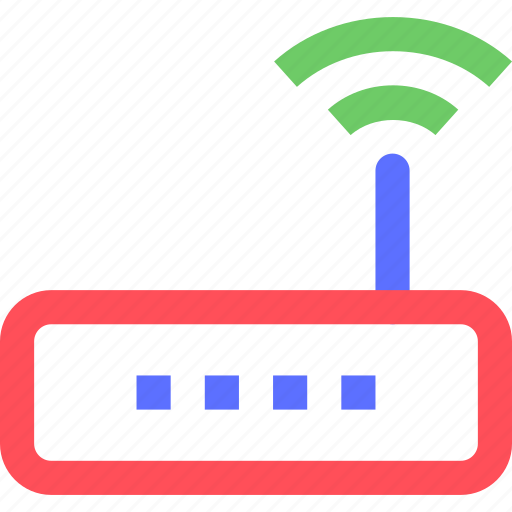 computers, digital, electronic, gadget, intelligence, router, wifi icon