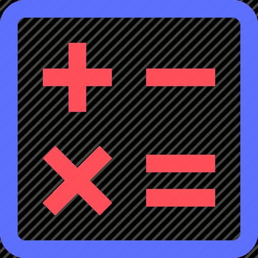 calculator, culture, education, learn, math, science, training icon