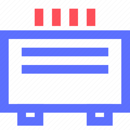 devices, electronics, gadgets, heater, systems, technology icon