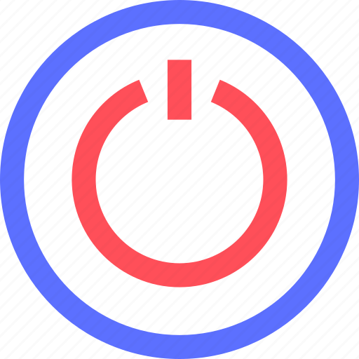 button, devices, electronics, gadgets, power, systems, technology icon