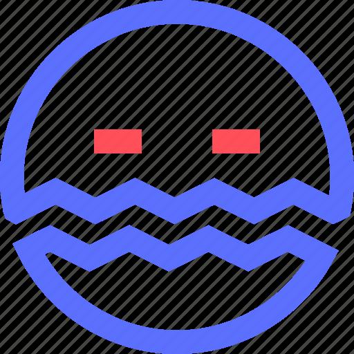 chat, disease, emoji, emoticons, face, ill, social icon