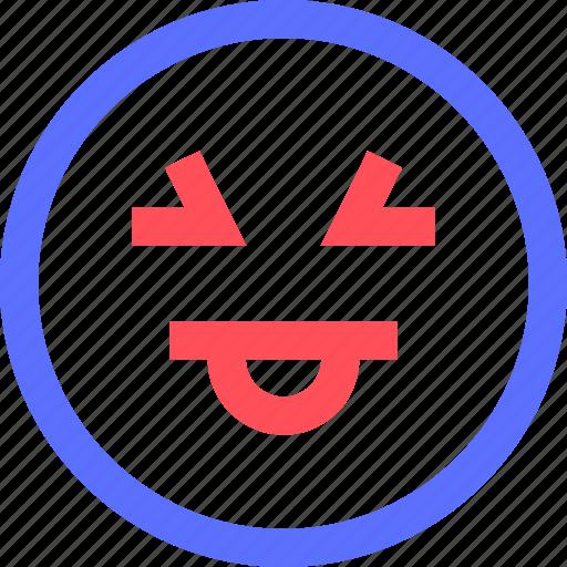 chat, emoji, emoticons, face, kiki, social, tongue icon