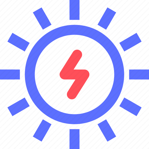 earth, ecology, efficiency, electricity, energy, power, sun icon