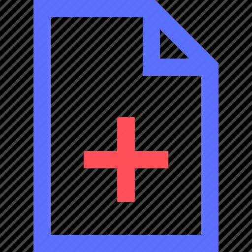 add, archive, computer, digital, file, files, interface icon