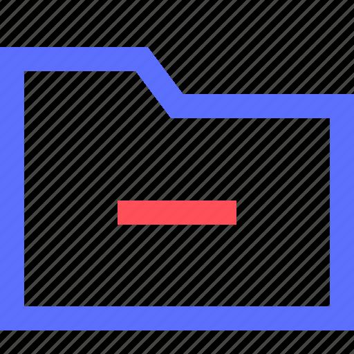 archive, computer, digital, files, folder, interface, remove icon