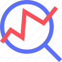 analytics, business, commerce, economics, finance, money icon