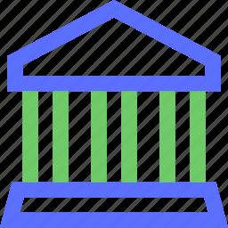 bank, business, commerce, economics, finance, money icon