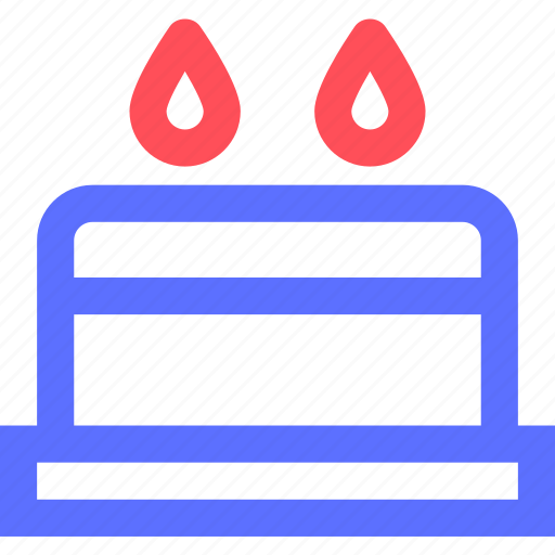 birthday, cake, cooking, diner, food, meal, snack icon