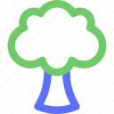 broccoli, cooking, diner, food, meal, snack icon
