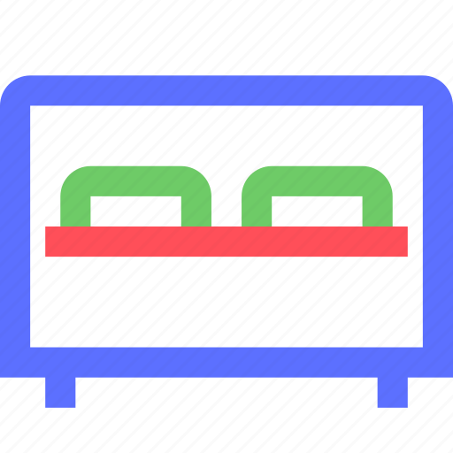 appliance, bed, devices, double, equipment, furniture, goods icon