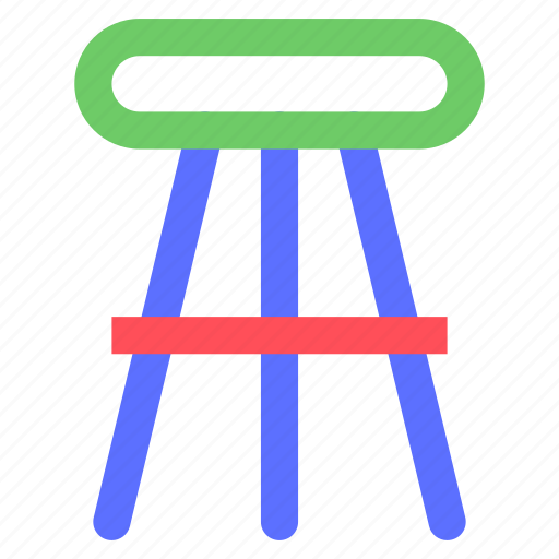 appliance, chair, devices, equipment, furniture, goods, high icon