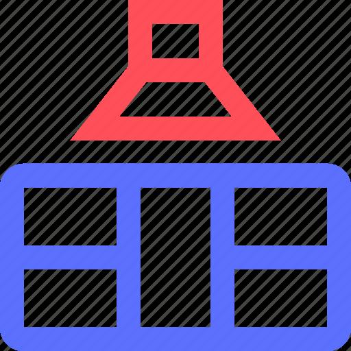 air, appliance, devices, equipment, furniture, goods, kitchen, purifier icon