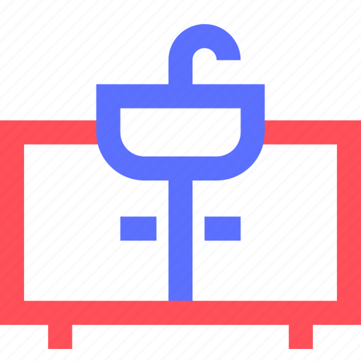 appliance, devices, equipment, furniture, goods, sink icon