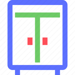 appliance, devices, equipment, furniture, goods, wardrobe icon