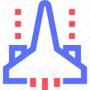 aircraft, combat, entertainment, fun, games, play, recreation icon
