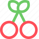 casino, cherry, entertainment, fun, games, play, recreation icon