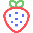 casino, entertainment, fun, games, play, recreation, strawberry icon