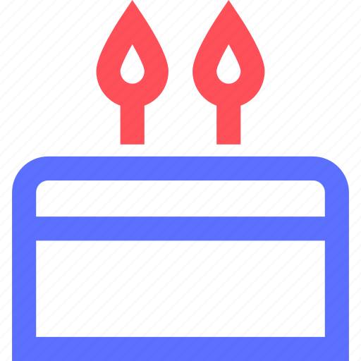 anniversary, cake, celebration, feast, festival, holidays icon