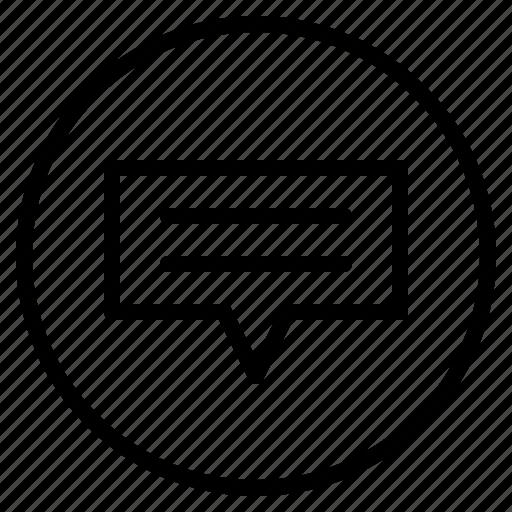 bubble, chat, communication, converstion, speech icon