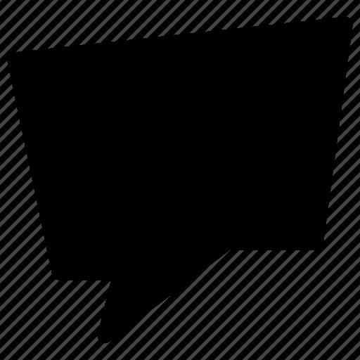 bubble, chat, comment, communication, creative, grid, message, shape, speech, talk icon