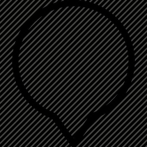 bubble, chat, communication, mark, message icon