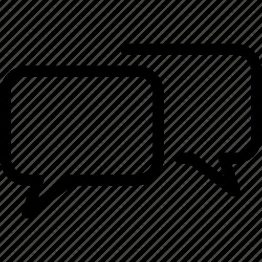 bubbles, chat, communication, message, speach icon