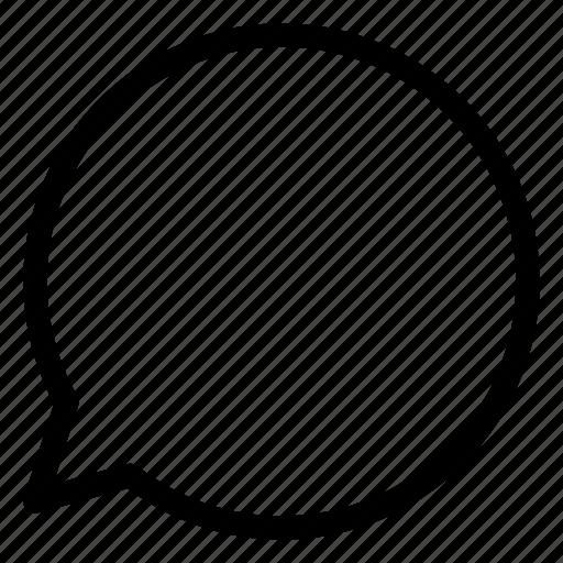 arrow, arrows, bubble, chat, communication, creative, grid, line, message, mobile, shape, talk icon