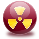 burn, nuclear, radio active icon