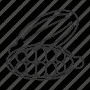 cardamom, cardamomum, cardamon, cardamum, condiment, culinary, spice icon