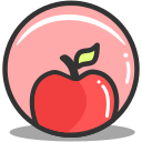 apple, fitness, health, nutrition icon