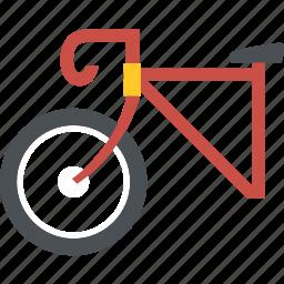 bike, bike racing, fitness, long road, speed, sports, transport icon