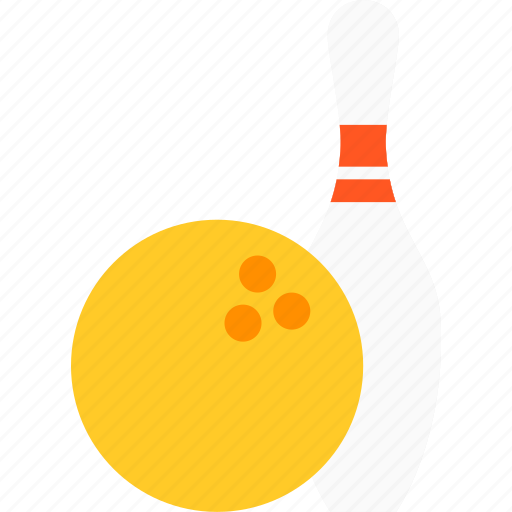 ball, bowling, equipment, game, sports icon
