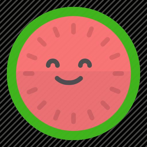 fitness, food, healthy, vitamins, watermelon icon