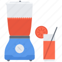 blender, fitness, gym, juice, orange, sport, training icon
