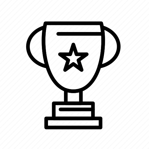 cup, trophy, winner icon