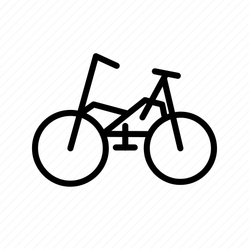 bicycle, cycle, cycling, sports icon