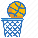 ball, basketball, competition, hoop, sports icon