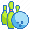 bowling, competition, game, pins, sport icon